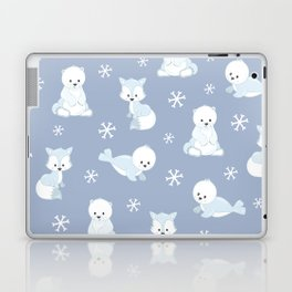 ARCTIC FRIENDS (blue) Laptop & iPad Skin