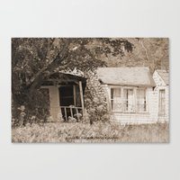 rustic Canvas Prints featuring Rustic by Becky Wilcox-Brann
