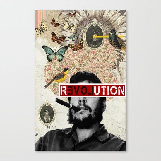 Public Figures Collection - Che Guevara Canvas Print