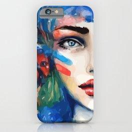 Mina. iPhone Case