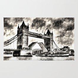 Tower Bridge and the Waverley Art Rug