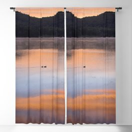 Out of the Depths (Sunrise on Lake George) Blackout Curtain