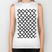 scales Biker Tanks featuring Scales by Geryes