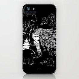 I'm Feeling Weird iPhone Case
