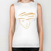 the dude Biker Tanks featuring Dude by thisisddm