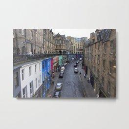 Victoria Street Edinburgh 1 Metal Print