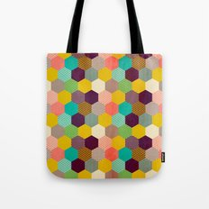 Fun Hexagon Tote Bag