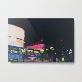 London nightlife ... Metal Print