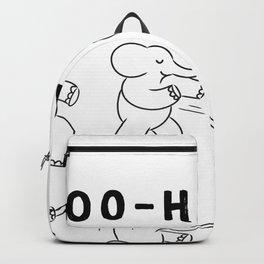 Hoo-Haa ( kungfu elephant ) Backpack