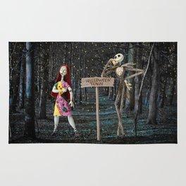 Halloween Town | Jack | Sally | Christmas | Nightmare Rug