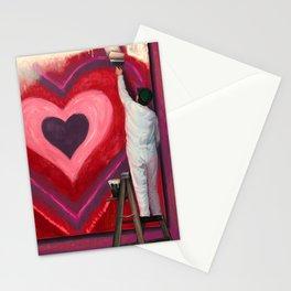 Valentine's Day Illustration Stationery Cards