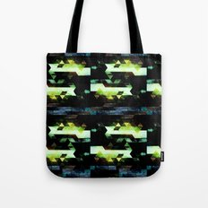 Trees Triangles Tote Bag