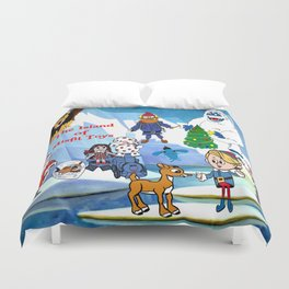 Island of Misfit Toys Duvet Cover