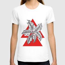 Geo Christmas Foliage T-shirt