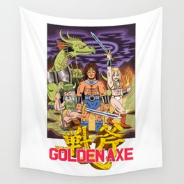 GOLDEN AXE Wall Tapestry