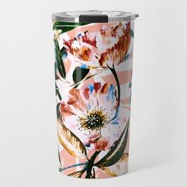 Vibrant botanical dreams Travel Mug