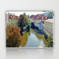 Watermill on Vltava River Laptop & iPad Skin