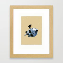 Gladiator - We are free Framed Art Print