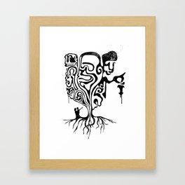 Self-Righteous Framed Art Print