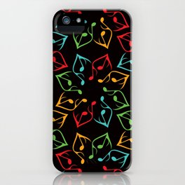 Music Flower iPhone Case