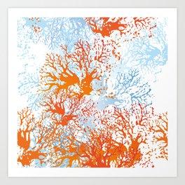 Coral Garden Art Print