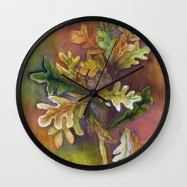 Fabulous Fall Wall Clock