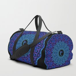 Tribal Dolphin Mandala Duffle Bag