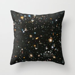 Hubble eXtreme Deep Field - Stella Creo Throw Pillow