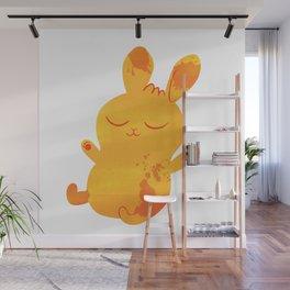 Sleepy Bunny Wall Mural