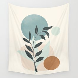 Azzurro Shapes No.53 Wall Tapestry