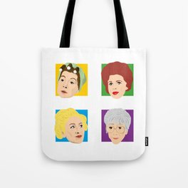 Coronation Street - Hilda, Elsie, Annie and Blanche Tote Bag