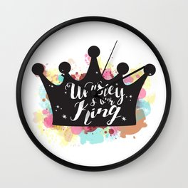 Weasley is our King Wall Clock