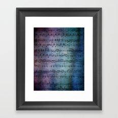 The Symphony Framed Art Print