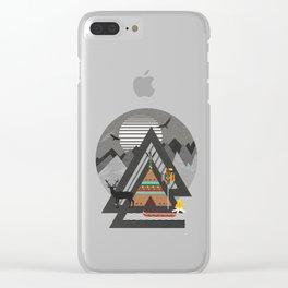 Northwest Passage Clear iPhone Case