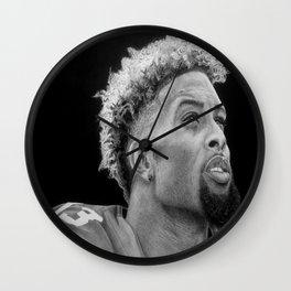 Odell Beckham Jr. Drawing Wall Clock