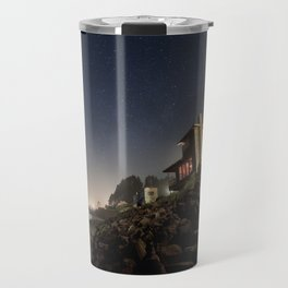 Starry Beach Travel Mug