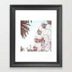 Let's Play Big Wheel Framed Art Print