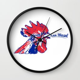 France Les Blues (The Blues) ~Group C~ Wall Clock