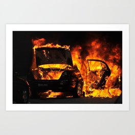 """Safe Streets"", 2010. Art Print"