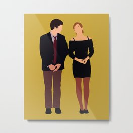 Charlie and Sam The Perks of Being a Wallflower movie Metal Print