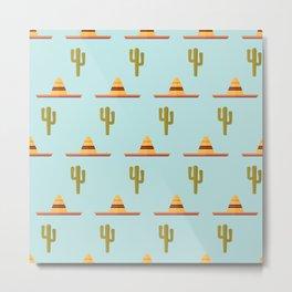 Sombrero party Metal Print
