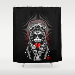 """""""Bring Her to Light"""" Shower Curtain"""