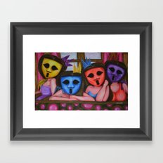 The Ghostesses Of Caprice Special Edition Art Print Framed Art Print