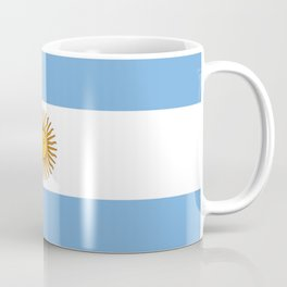 Flag of argentina -Argentine,Argentinian,Argentino,Buenos Aires,cordoba,Tago, Borges. Coffee Mug