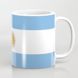 Flag of argentina -Argentine,Argentinian,Argentino,Buenos Aires,cordoba,Tago, Borges. Coffee Mug