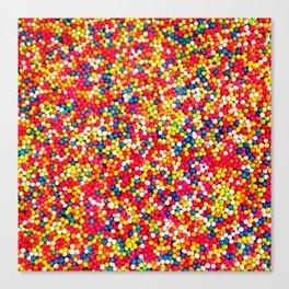 Round Sprinkles Canvas Print