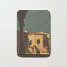 Ravenna Italy - Vintage Travel Ad Bath Mat