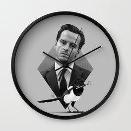 A good old-fashioned villain Wall Clock