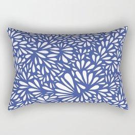 White Drops Rectangular Pillow