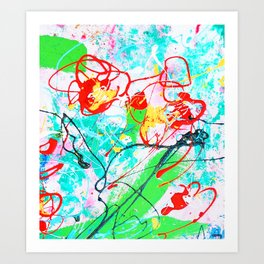 CELEBRATE MOTHER Art Print